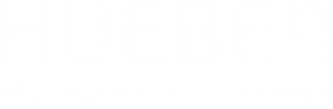 Hueber Management Engineers Logo in Weiß