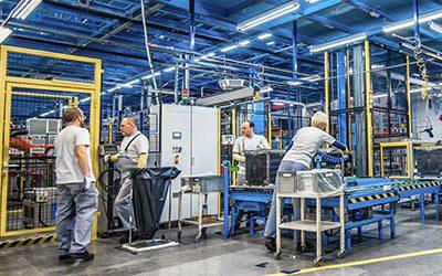 Einführung von Lean Manufacturing in der Produktion